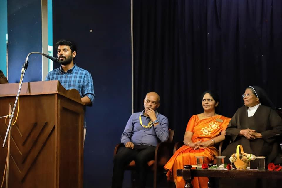 Ramith Chennithala IRS addressing the gathering