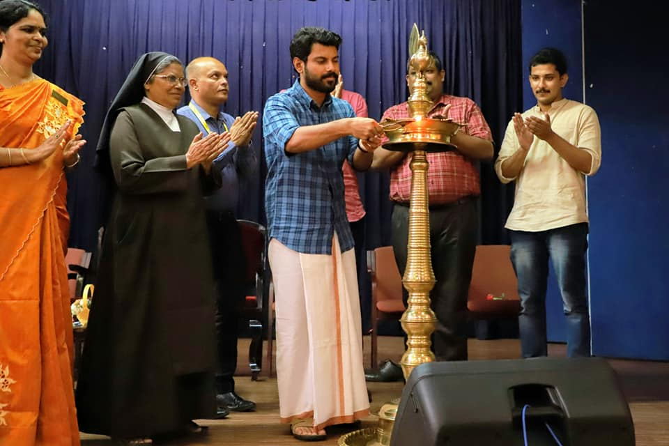Q league Campus edition Inauguration St Teresa's College Ernakulam by Ramith Chennithala IRS