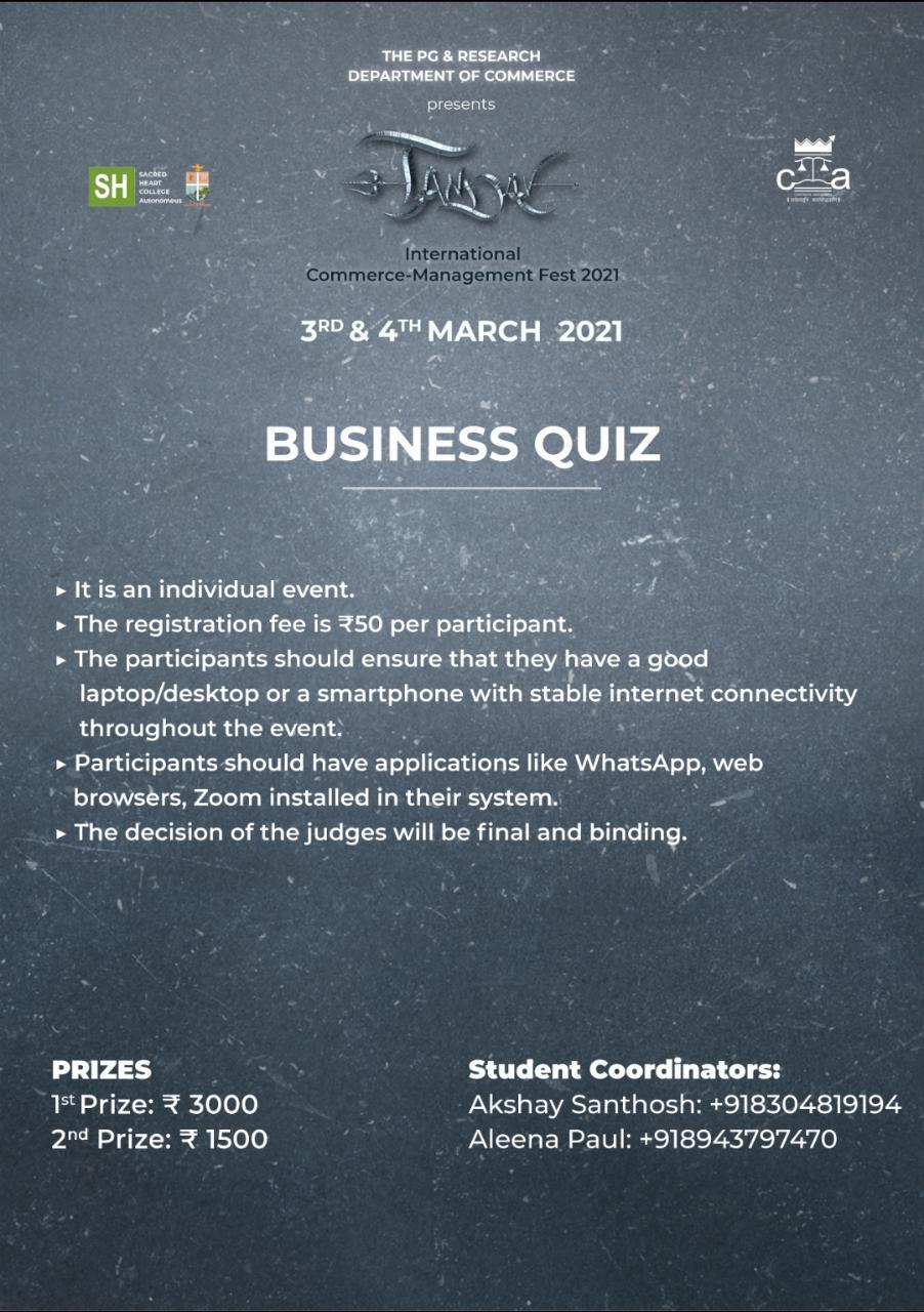 Tandav Business Quiz